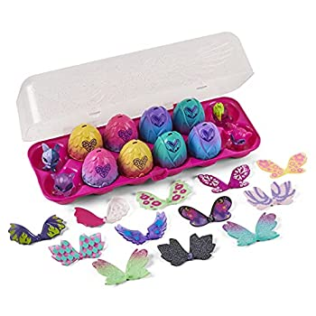 Hatchimals CollEGGtibles Wilder Wings 12-Pack Egg Carton with Mix and Match Wings