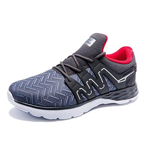 ONEMIX Zapatillas Hombre Running Deporte Transpirables Casual Zapatos Gimnasio Correr Sneakers