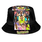 ATSH The Fresh Prince of Bel Air Unisex Fisherman Hat Trendy Outdoor Hat Wild Hat Cool Hip-Hop Style Bucket Hat Black