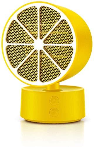 Qbylyf Limone mini-ventilatorkachel, keramische ventilator, elektrische verwarming, familie, kantoor, desktop shaker, heater, kjhgf