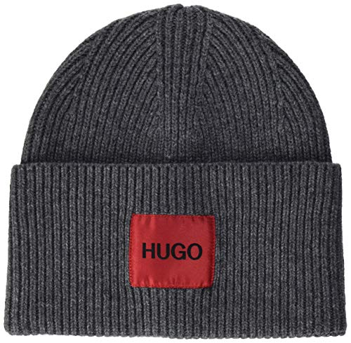 HUGO Mens Xaff 3 Cap, Charcoal (16), ONESI