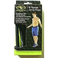 Athletic Works 9' Speed Jump Rope Exercise & Fitness Ergonomic Slim Handle