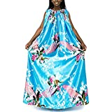 Yoni Steam Gown (Sky Peacock) , Bath Robe, full body covering , soft and sleek fabric, eco-friendly for spa, sauna, hair salon and more