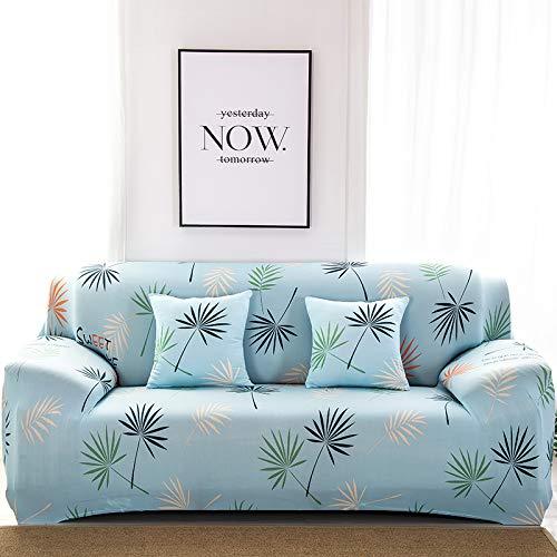 RKZM Four Seasons All-Inclusive Elastic Sofa Set Full Cover Sofa Cover Combination Three-Person Sofa Cushion Sofa Towel universal 145-185cm Blue Impression