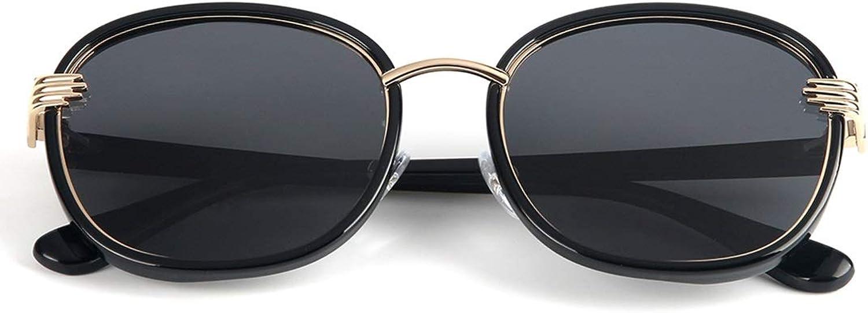 FLYSXP Fashion Classic Retro Sunglasses Square Palm Legs Polarized Sunglasses Sunglasses (color   Gradient Frame Black Lens)