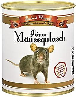 Mäusegulasch aus der Dose