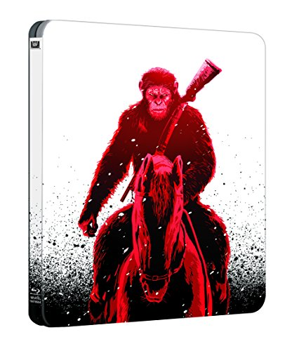 War for the Planet of the Apes (STEELBOOK) (3D + Blu-ray) (2 Disc)