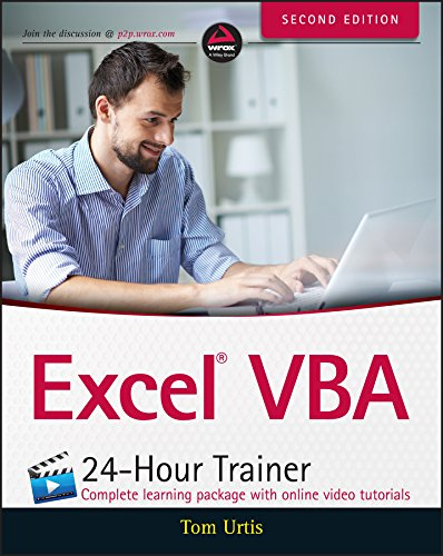 Excel VBA 24-Hour Trainer (English Edition)