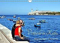 Verliebt in Kuba - Begegnungen in Havanna (Wandkalender 2022 DIN A4 quer): Liebespaare und Hochzeitspaare in Havanna (Monatskalender, 14 Seiten )