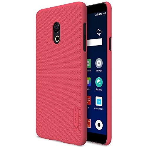SHIEID Hülle für Meizu M15 Hülle Festigkeit & Flexibilität Zurück Cover Style Smartphone Hülle für Meizu M15 (Rote)