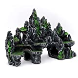 DMDMJY Fish Tank Ornament Rockery Landscaping Adorno Adorno Resina Craft Bridge Bridge Artificial Set Arch Plank Bridge Rockery Bonsai Decor Fish Tank Ornament