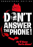 Don't Answer the Phone [DVD] [Import]