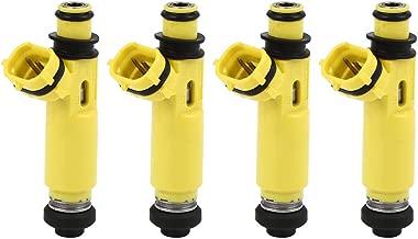 uxcell 4pcs New Plastic Fuel Injector Nozzle 195500-4450 for 04-09 Mazda RX-8