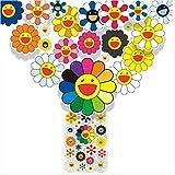 ZHANG 22 Murakami Soleil Fleur Art Personnalité Marée Marque Bagages Valise...