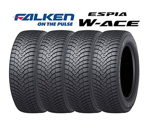 【4本セット】ファルケン(FALKEN) スタッドレスタイヤ ESPIA W-ACE 155/65R14 75S 332374