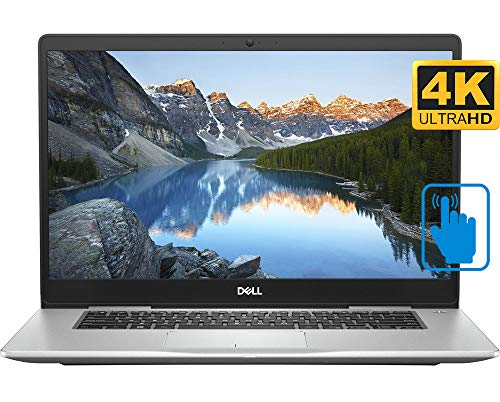 """Dell Inspiron Home and Entertainment Laptop (Intel i7-8550U 4-Core, 64GB RAM, 2TB PCIe SSD, 15.6"""" Touch 4K UHD (3840x2160), 940MX, WiFi, Bluetooth, Webcam, 3xUSB 3.1, 1xHDMI, Win 10 Home)"""
