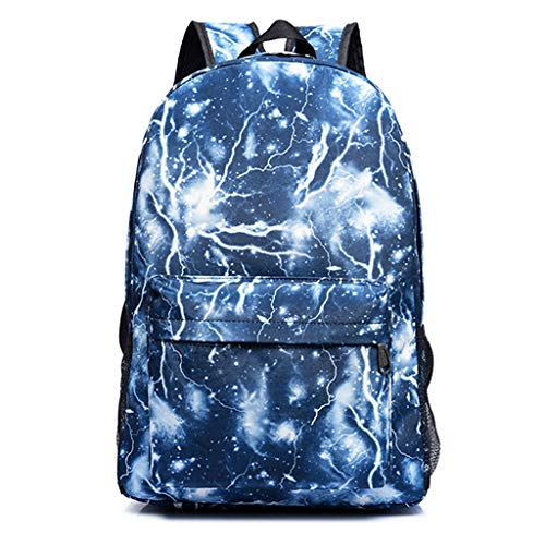 uBaby Backpack Bags,Fashion Galaxy Sky Printing Schoolbags College Shoulder Back Pack/School Book Backpack Fits Boys and Girls Teen