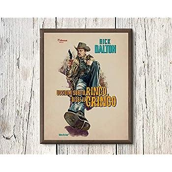 ONCE UPON A TIME IN HOLLYWOOD RICK DALTON NEBRASKA JIM DI CAPRIO Poster 24x36