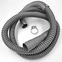 Washing Machine Drain Discharge Hose – Commercial grade Polypropylene with Universal Connection for 1