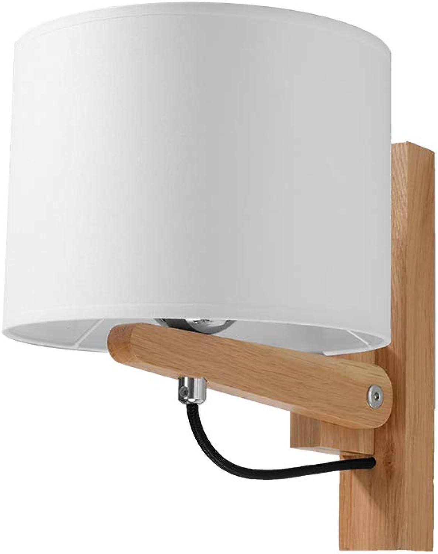 Sollux Lighting Wandleuchten, Holz, Naturholz, 20 x 24 x 25