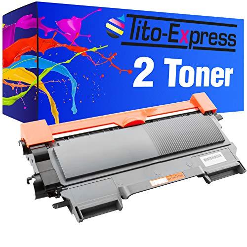 Tito-Express PlatinumSerie 2 Toner XXL Black kompatibel mit Brother TN-2010 | Für DCP-7060D 7065DN 7070DW HL-2215 2220 2230 2240 2240D 2250DN 2270DW MFC-7360N 7460DN 7470D 7860DN 7860DW