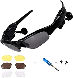 Wireless Bluetooth Sunglasses Anti-ray Stereo 4.1 Music Bluetooth Headphones for Men..