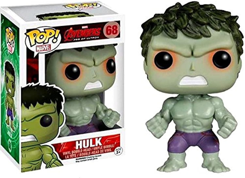 Funko  Figurine Marvel Avengers Age of Ultron  Hulk Savage Exclu Pop 10cm  0849803055790