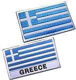 2pcs Greece Flag...image