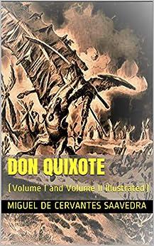 Don Quixote: (Volume I and Volume II Illustrated) (English Edition) en losmasleidos.com