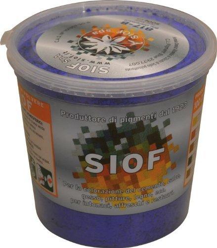 Colorante Siof 500 gr Ossido Ferro Rosso Sintetico 1017 per colorazione di calce