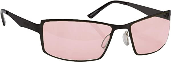 Migraine Glasses for Migraine Relief and Light Sensitivity Relief Terramed Sparrow Unisex Migraine Glasses Women or Men   Fl-41 Migraine Glasses for Computers Indoor Photophobia Eye Strain (Graphite)