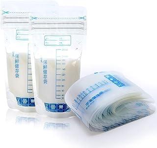 30 Piezas 250ml Pecho Leche Comida Congelador Almacenaje Bolsas Seguro Alimentación Sello Bolsa