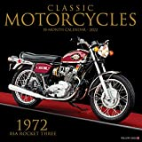 Classic Motorcycles 2022 Wall Calendar