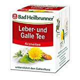 Bad Heilbrunner Leber- und Galle Tee im Filterbeutel, 3er Pack (3 x 8 Filterbeutel)