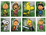 Charlie Brown Themed Christmas Ornament Set Featuring Charlie Brown and Peantus Friends...