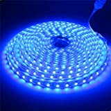 Tiras LED SMD5050 220v 60 Led/m (2 Metros Azul) Impermeable Ip65 Con Enchufe ONSSI LED