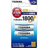 東芝 充電式ニッケル水素電池インパルス【IMPULSE】(単3形min.950mAh 2本) TNH-3L 2P