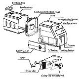 Xirfuni Alimentador de Peces, alimentador de Peces eléctrico Inteligente automático, para alimentación de Peces granular