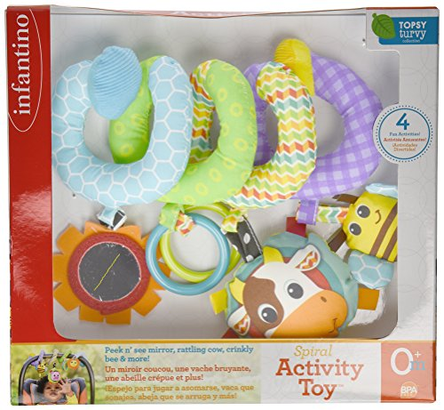 Image of Infantino Spiral Activity Toy, Blue
