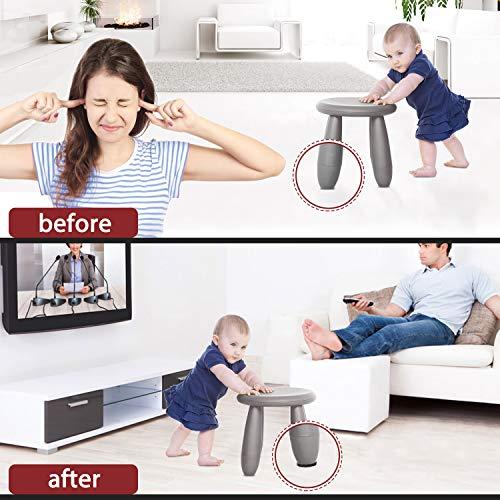Felt Furniture Pads -182 Pcs Furniture Pads Self Adhesive