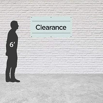 CGSignLab 8x4 Clearance Basic Teal Heavy-Duty Outdoor Vinyl Banner
