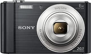 Sony Cyber-Shot DSC-W810/B Digital Camera HD 20.1 MP 6X Optical Zoom 2.7 inch LCD Black