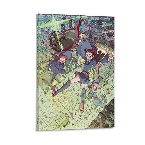 BVNGF Little Witch Academia Anime Poster su tela e stampa artistica da parete, 30 x 45 cm
