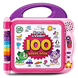LeapFrog Scout and Violet 100 Words Book Bilingual kids toy, electronic toys for kids, electronic gifts, toddler electronics, learning toys for toddlers, childrens electronic toys, musical toys, best electronics for kids, cool toys for kids, electronic educational toys, electronic games for kids, developmental toys, interactive toys, early learning toys, Tech Toys for kids