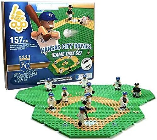 Kansas City Royals OYO Sports Mini Figure MLB Game Time Set