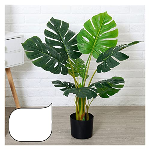 Bonsai Decorative 80cm planta artificial tortuga trasera Simulación planta verde, en maceta para tienda al aire libre interior tienda de oficina doméstica decoración de regalo de una sola pieza. Bonsa