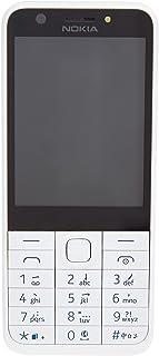 نوكيا 230 - شاشة 2.8 بوصة، شبكة الجيل الثاني، ذاكرة رام 16 ميجابايت، ابيض