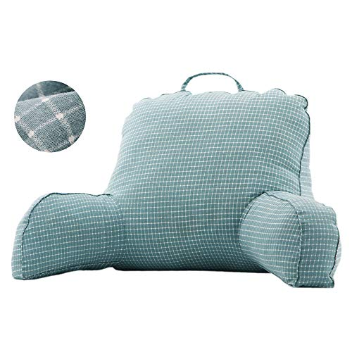 Mystery&Melody Super Large Reading Pillow Lounger Bed Rest Back Pillow Support Arm TV Backrest Seat Cushion