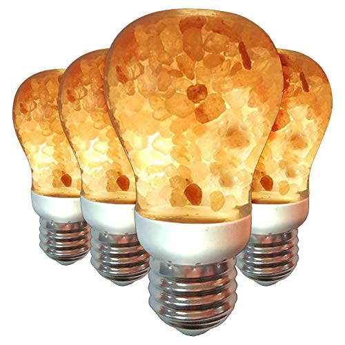 Himalayan Glow W1651B-4PK Warm Amber Glow, Dimmable...