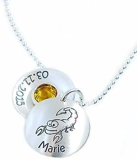 Anhänger Medaillon Sternzeichen Constellation Löwe Unisex Halskette